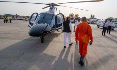 Akhilesh Yadav, Yogi Adityanath, Suresh Thakur, Akhilesh shares mal with Yogi Adityanath, Samajwadi Party President, Uttar Pradesh Chief Minister, Uttar Pradesh, Politic news
