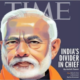 Narendra Modi, Indian Prime Minister, Time, American news magazine, Hindus and Muslims, National news