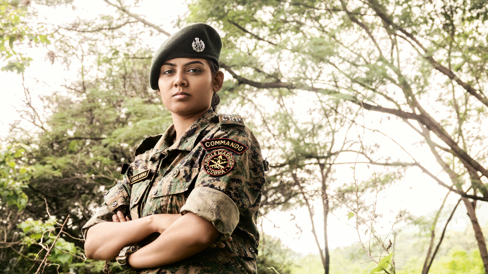 Woman commando, CoBRA commando, Commandos, Jungle Warriors CoBRA, Commando Battalion for Resolute Action, CoBRA, Usha Kiran, Miss India contest, Maoists, Tribal women, Raipur, Chhattisgarh, Regional news