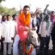 Mani Bhushan Sharma, Lok Sabha elections, Lok Sabha polls, Donkey, Nomination paper, Jehanabad, Bihar, Regional news