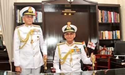 Indian Navy, Sunil Lanba, Karambir Singh Naval Chief Officer, Chief of Naval staff, National news