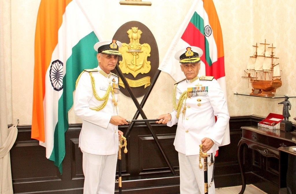 Indian Navy, Sunil Lamba, Karambir Singh Naval Chief Officer, Chief of Naval staff, National news