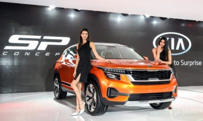 Kia, SP2i SUV, Car and bike news, Trailster, India, South Korean auto, SUV, Auto Expo, Business news, Automobile news