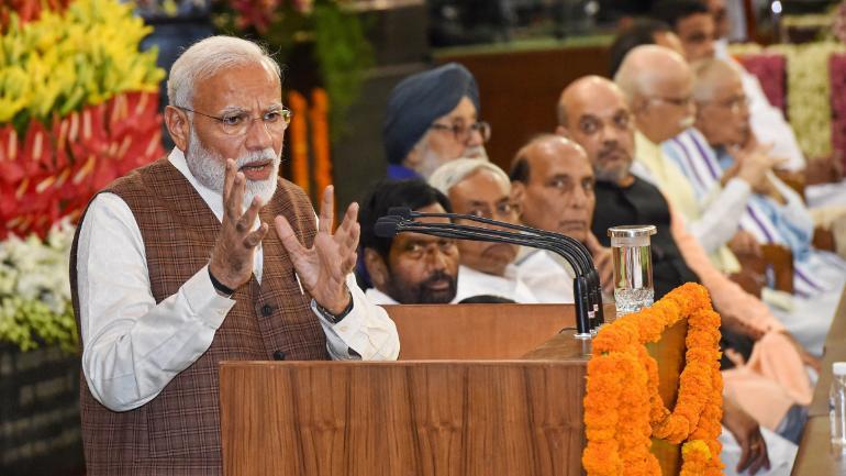 Narendra Modi, Amit Shah, Rajnath Singh, Smriti Irani, Prime Minister of India, Cabinet Minister, Portfolios of Ministers, National news