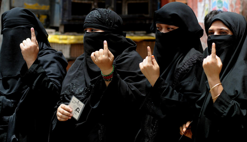 Muslims, Muslim voters, Lok Sabha elections, Lok Sabhas polls, Bharatiya Janata Party, SP-BSP alliance, Kashmir militants, Ali aur Bajrangbali, Uttar Pradesh, Politics news