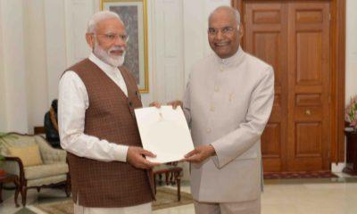 Narendra Modi, Ram Nath Kovind, Prime Minister, Rashtrapati Bhavan, Lok Sabha elections, Lok Sabha polls, National news