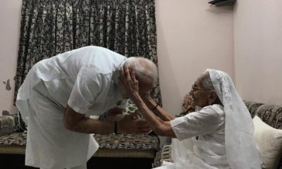 Narendra Modi, Hiraba, Narendra Modi mother, Lok Sabha elections, Lok Sabha polls, National news