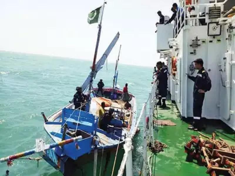 Indian Coast Guard, Al Madina, Narcotic, Heroin, Pakistan, Maritime