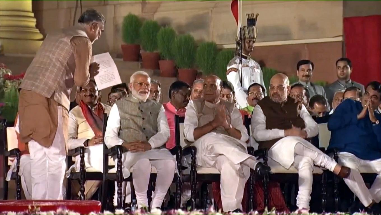 Narendra Modi, Prime Minister of India, Indian Prime Minister, National Democratic Alliance government, Rashtraparti Bhavan, National news