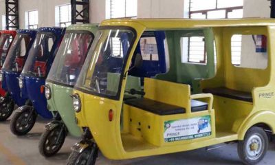 Three wheel electric vehicles, Electric vehicles, Air pollution, Automobile industry, Vehicular pollution, Auto mobile sector, Car and Bike