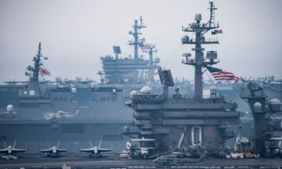 Donald Trump, Artificial islands, American warship, US Army, US military, US Navy, Chinese goods, South China Sea, America, United States, World news